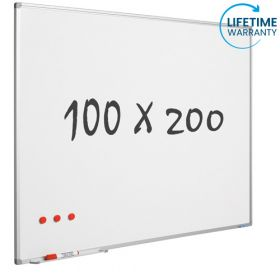whiteboard emaille 100 x 120 cm