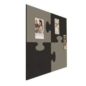 Prikbord bulletin - Puzzel - Zwart-Grijs 2