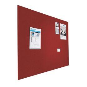 Riesige Design-Pinnwand - Bulletin - 120x200cm - Rot - Rahmenlos schwebend