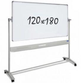 Whiteboard – mobil – doppelseitig – magnetisch – 120x180cm