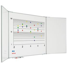 inklapbaar whiteboard 120x200 cm