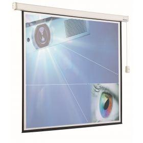 Projectiescherm elektrisch - 1:1 180x180 cmrojectiescherm