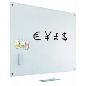 Glassboard - Glas Magnettafel - 60x90 cm, weiß
