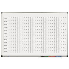 Jahresplaner Legamaster - horizontal - magnetisch - 60x90 cm