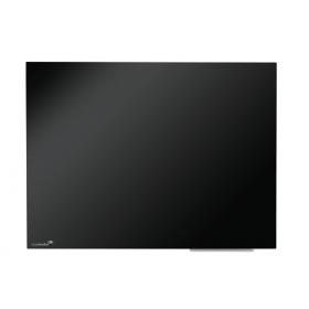 Glas-Magnettafel 60x80 cm schwarz