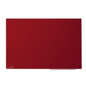 Glasboard in Rot