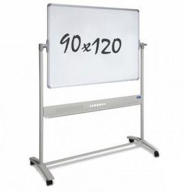 Whiteboard - mobil – doppelseitig - magnetisch – 90x120cm