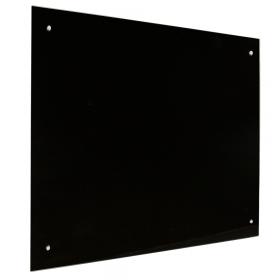 Glas Magnettafel – 60x90 cm - Schwarz