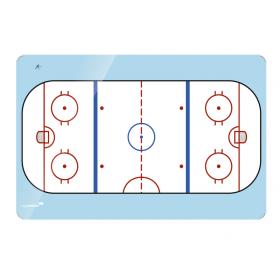 ijshockeybaan bedrukking op whiteboard