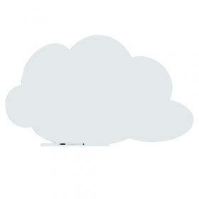 Skin whiteboard - Denkwolk - Wit - 100x150 cm