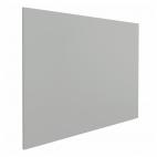 "Whiteboard ""Eco"" – Grau - 45x60 cm - ohne Rahmen - magnetisch"