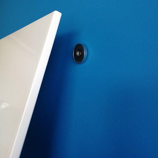 whiteboard rahmenlos eco 100 x 100 magnettafel ohne rahmen. Black Bedroom Furniture Sets. Home Design Ideas